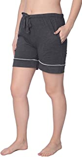 Women's Short Jersey Knit Pajama Lounge Pant Available in Plus Size