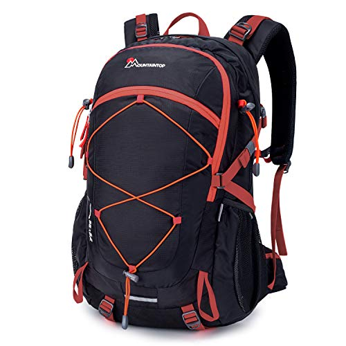 MOUNTAINTOP Hiking Backpack 40L Water Resistent Trekking Rucksack for Men Women Outdoor Traveling...