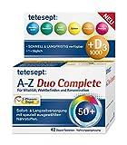 tetesept Vitamin A-Z Duo Complete – Nahrungsergänzungsmittel für Vitalität