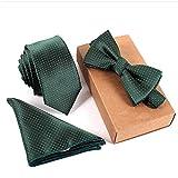 Business Krawatten Set Fashion Style Variety Komplettes Anwaltskrawatten-Fliegenset -014 Standard