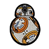 Star Wars Patch for Jacket 1 pcs Military Morale Sew On/Iron On Patches Clothes Dress DIY Accessory (BB-8 Robot Droid)