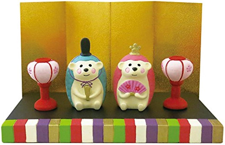 DECOLE Concombre Composible Figures (Hedgehog Hina Set)