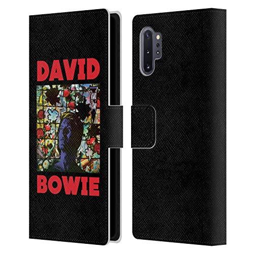 Head Case Designs sous Licence Officielle David Bowie Tonight Art D'Album Coque en Cuir à Portefeuille Compatible avec Samsung Galaxy Note10+