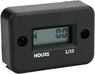Sangmei Display LCD digital à prova d'água medidor de horas do medidor de horas do motor do motor do carro e da motociclet...