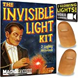 Magic Makers Red Light Up Thumb Tips Flexible Fingertip Performance Prop for Magicians and Illusionists