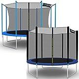 Kinetic Sports–Garten-Trampolin mit Sicherheitsnetz, erhältlich in verschiedenen Größen