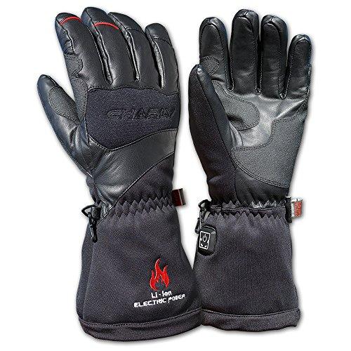 Charly LI-ION POWERHEAT, beheizbare Handschuhe / elektrisch beheizte Handschuhe mit Akku, wasserdicht (M)