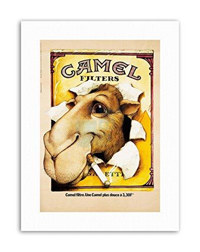 Wee Blue Coo LTD Camel CIGGARETTES. 1976 POSTERHOME Decor Poster Advertising Canvas Art Prints