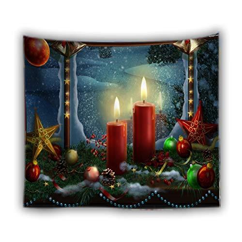 WERT Decoración para el hogar Manta Arte Colgante de Pared Tapiz Cubierta de Pared Mantel sábana Grande Tapiz de Playa Estera de Yoga A15 200x180cm