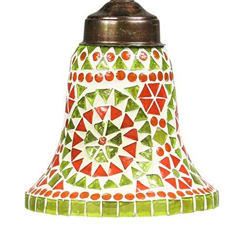 Hänge Mosaik Lampen Rund Orientalisch Dekoleuchte Wandleuchte Laterne Deckenleuchte Bunt Color 14cm ø Nr. 8,b