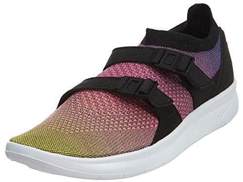 Nike Air Sockracer Flyknit PRM mens running-shoes 898021-700_9.5 - Yellow Strike/White-Racer Pink-Black
