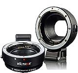 VILTROX EF-EOS M - Adaptador de objetivo electrónico para Canon EOS EF/EF-S a Canon EOS M Mount Camera EOS M100 M50 M3 M10 M6 M5 II M200