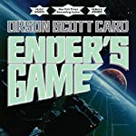 Ender's Game     Special 20th Anniversary Edition              By:                                                                                                                                 Orson Scott Card                               Narrated by:                                                                                                                                 Stefan Rudnicki,                                                                                        Harlan Ellison,                                                                                        Gabrielle de Cuir                      Length: 11 hrs and 57 mins     37,009 ratings     Overall 4.6