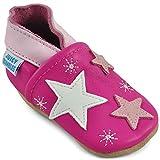 Zapatos Niña - Zapatillas Niña - Patucos Primeros Pasos - Estrellas Rosas -...