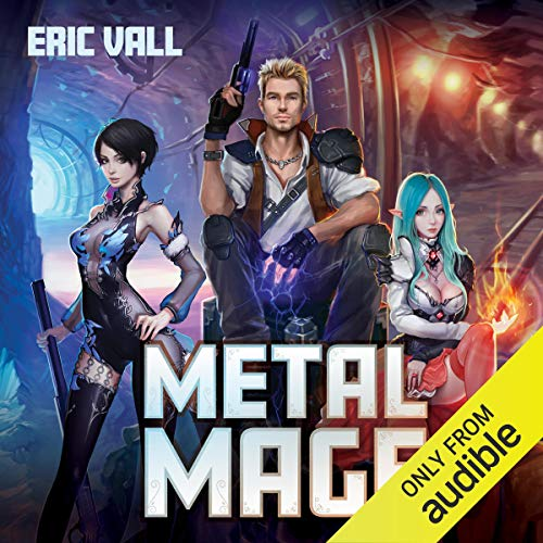 Metal Mage audiobook cover art