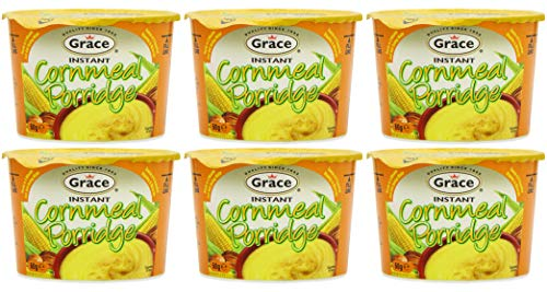 (Pack van 6) Grace Instant Maïsmeel Pap 60g