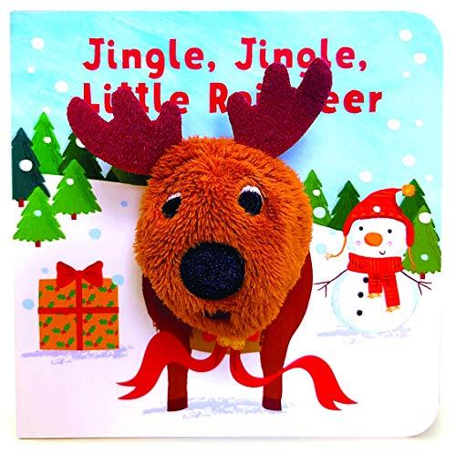 Jingle, Jingle, Little Reindeer Finger Puppet Book (Finger Puppet Board Book)