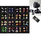VIDOO Sun Flower Shell 16 Diapositive Natalizie Lampada per Proiettore Cinematografico Pro...