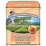 American Classic Loose Tea, Plantation Peach Tin, 2.3 Ounce