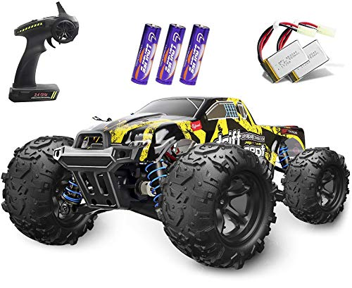 1/18 RC Cars High Speed Remote Control Car for Adults Kids 30+MPH, 4WD Off-Road RC Monster Truck, Fast 2.4GHz All Terrains Toy Trucks Gifts for Boys, with 2 Rechargeable Batteries for 40Min Play