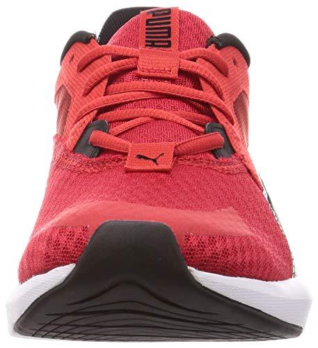 Puma Hybrid NX Ozone, Zapatillas de Running Hombre, Rojo Negro, 40 EU
