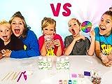 Team Mystery Wheel Of Slime Challenge!