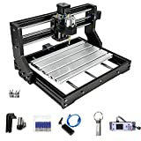 VEVOR CNC 3018-PRO Router Machine 3 Axis GRBL Control with Offline Controller Plastic Acrylic PCB PVC Wood Carving Milling Engraving Machine XYZ Working Area 300x180x45mm