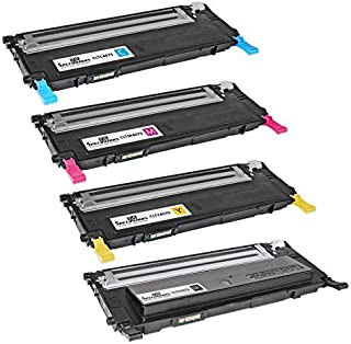 Best Speedy Inks Compatible Toner Cartridge Replacement for Samsung CLP-325 (1 Black, 1 Cyan, 1 Magenta, 1 Yellow, 4-Pack) Review