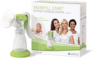 Ardo Amaryll Start Manual Breast Pump -, Manual Breast Pump for Gentle, Occasional Pumping of Breast Milk - BPA-Free - Swi...
