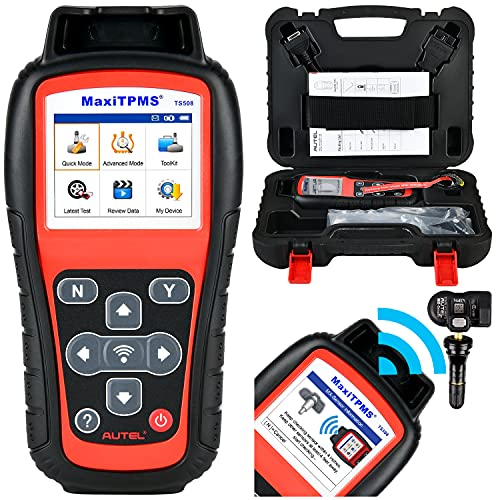 Price comparison product image Autel MaxiTPMS TS508 TPMS Relearn Tool 2021 Newest Free Update,  4 Modes to Program MX-Sersors (315 / 433MHz),  Upgraded Version of TS501 / TS408 Quick / Advanced Mode