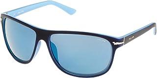 Police - S1958M64N05B Gafas de sol, Azul, 64 Unisex