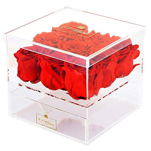 O'HARA DES FLEUR | Preserved Roses in a Box |Real Roses That...