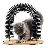 Peluquero para Gatos Gato Grooming, Scrapidor De Gato Multiuso, 3 En 1 Arco De Gato Funcional
