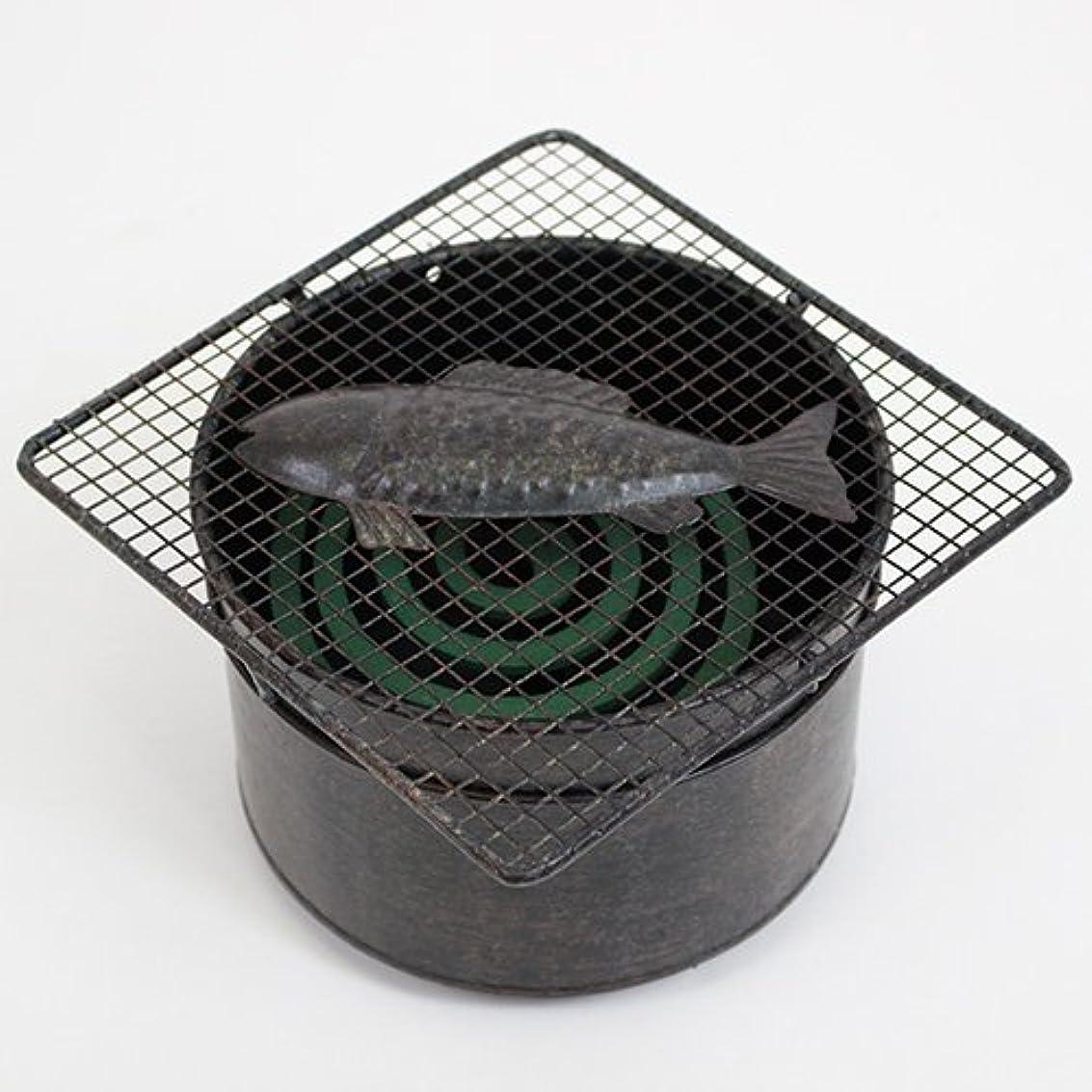 レンジ天国解釈する村田屋産業 防蚊 ブラック サイズ:W16×D16×H11cm、直径14.5cm
