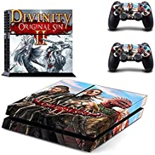 Playstation 4 Skin Set - Divinity HD Printing Vinyl Skin Cover Protective for PS4 Gaming Console and 2 PS4 Controller by Mr Wonderful Skin