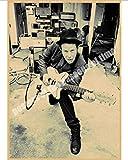 Canvas Poster Hot Tom Waits Rock Band Music Cafe Bar Poster