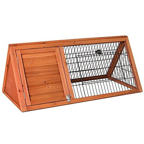 Home Discount Gehege für Haustiere, Dreieckig, Holz, Haustier von Pet Vida