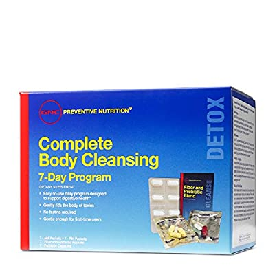 GNC Preventive Nutrition Complete Body Cleansing Program, 7 Day(s), Supports Overall Wellness and Digestive Health by Gnc