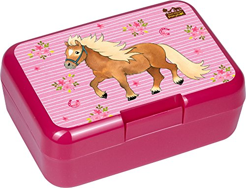 Spiegelburg 14580 Fiambrera Sandwichera Infantil Niñas Rosa Mi Pequeño Pony 17 x 12 x 6,5 cm