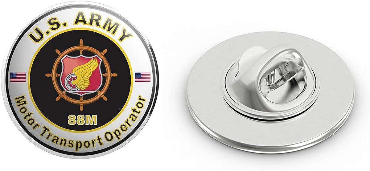 Veteran Pins U.S. Army MOS 88M Motor Transport Operator Metal 0.75