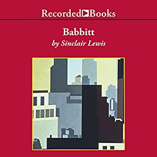 Babbitt audiobook cover art