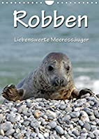 Robben (Wandkalender 2022 DIN A4 hoch): Liebenswerte Meeressaeuger (Monatskalender, 14 Seiten )