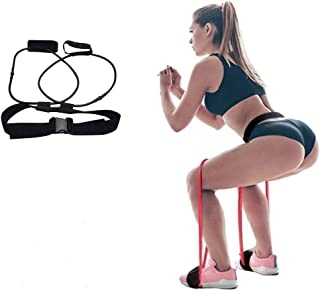 Resistance Bands for Legs and Butt Booty Resistance Bands Workout Program, Lift & Tone Your Perfect Butt for Football Soccer Basketball Taekwondo Yoga Running Training