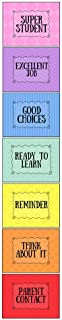 Laminated Behavior Chart for Classroom, Wall Hanging Behavior Clip Chart, Classroom and Household Behavior Management, Completely Customizable, Appropriate for All Ages, Chart ONLY