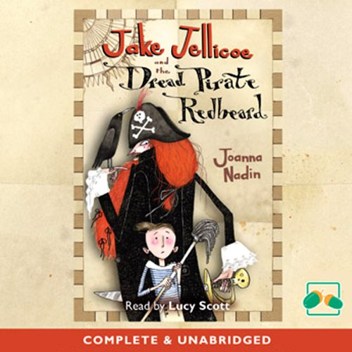 『Jake Jelliocoe and the Dread Pirate Redbeard』のカバーアート