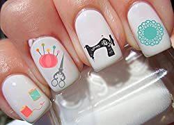 Sewing Nail art decals