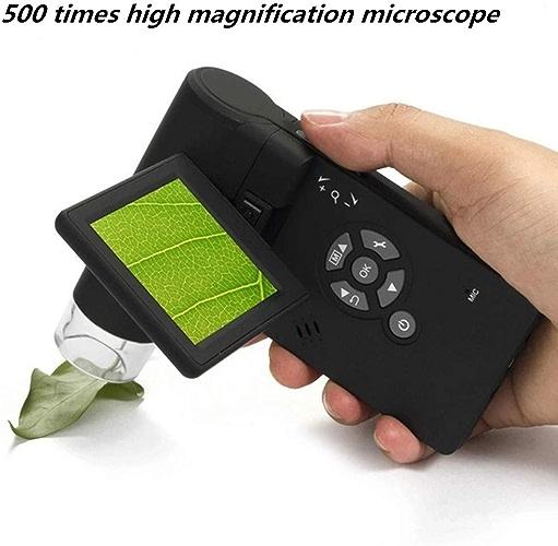 Miaozaigou La Carte Portative HD avec L'écran 500 Fois La Loupe électronique D'appareil-Photo De Microscope Numérique Peut être Reliée à USB AV