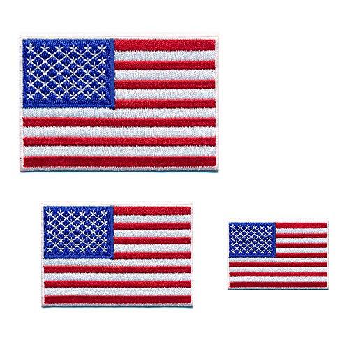 3 USA drapeau uSA drapeaux-washington d. c amérique patch patch patch 0650