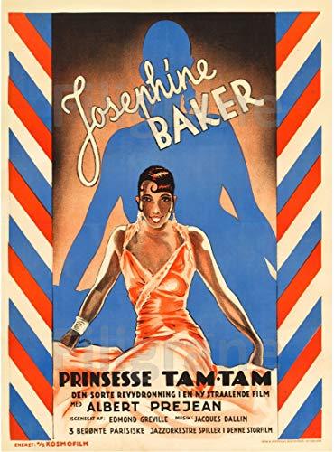PostersAndCo TM Prinzessinnen TAM-TAM J. Baker Rpzw-Poster/Reproduktion 90 x 120 cm * d1 Poster Vintage/Retro