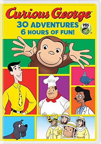 Curious George 30-Adventure Collection - DVD
